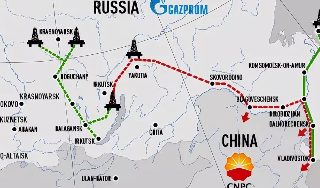 Газопровод в Монголию «Сила Сибири-2»