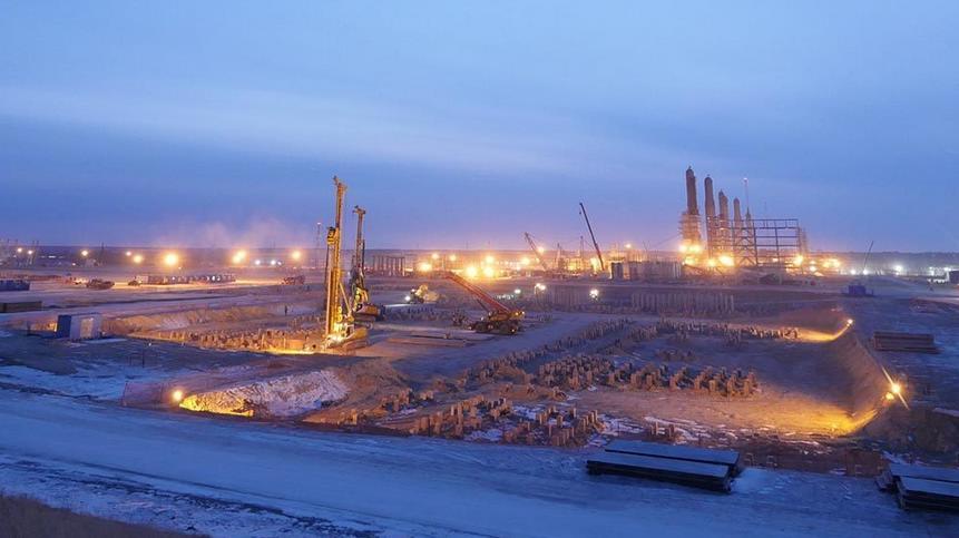 Строительство в Арктике вакансии Газпром