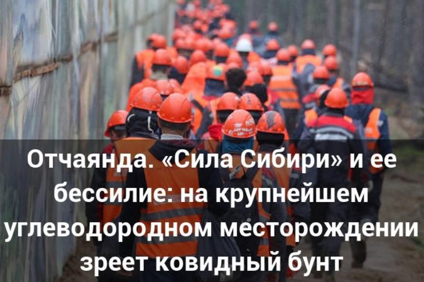 «Сила Сибири» бунт рабочих